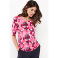 Gerry Weber Passion Pink Stripe Dot Print Top