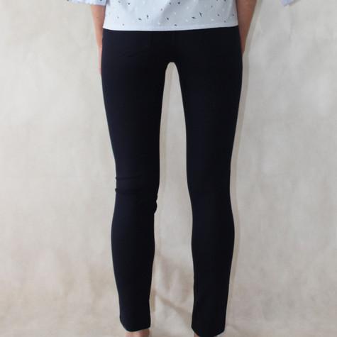 Zac and Rachel Bond 18 Navy Slim Leg Trousers