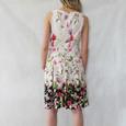 Jessica Howard Blush Floral Sleeveless Dress