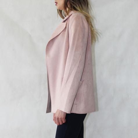 SophieB Dusty Pink Open Jacket