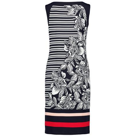 Gerry Weber Black & Ecru Floral Contrasting Print