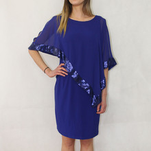 Scarlett BELLA CAPE SEQUENCE DRESS