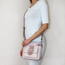 Gionni Lilac Colour Block Handbag