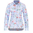 Gerry Weber Shirt Blouse with Stripes and Flowers