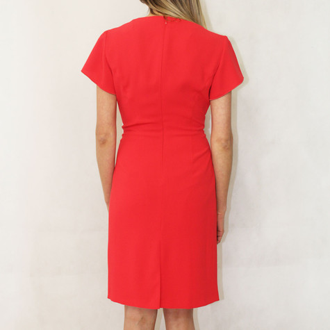 3cf32cbfbb Gerry Weber Red Dress with a Flounce edge