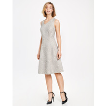 Gerry Weber Ecru Textured Cocktail Dress