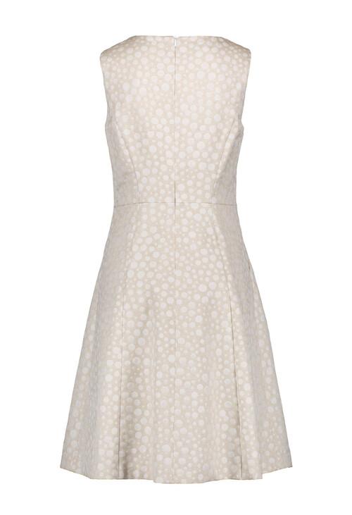 Gerry Weber Ecru Textured Cocktail Dress