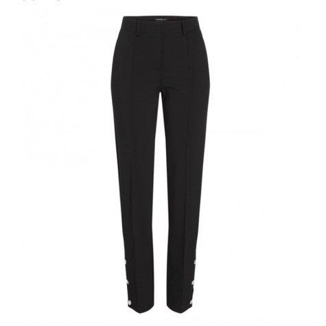 One More Story JERSEY TROUSERS WITH SILVER BUTTONS
