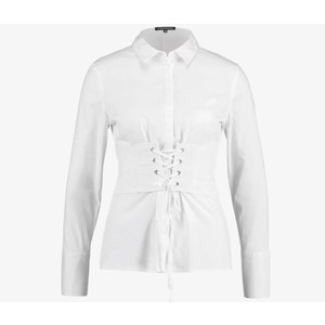 One More Story CORSET WHITE SHIRT