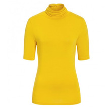 One More Story YELLOW TURTLENECK SHIRT