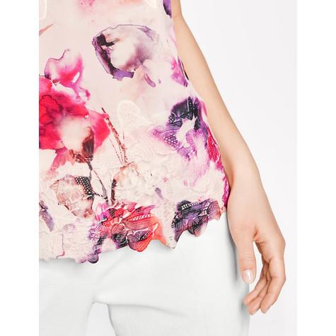 Gerry Weber Orange Druck & Pink Pattern Top