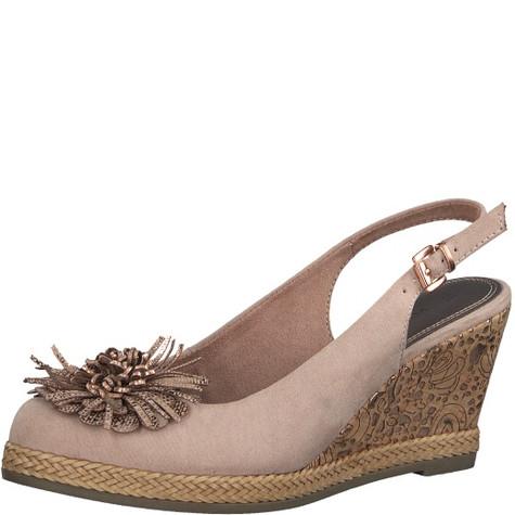 Marco Tozzi Rose Slingback Wedge Shoes