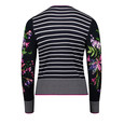 Betty Barclay Pin-strip Floral Print Sleeve Cardigan