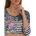 Betty Barclay Stripe Pattern Mix Top