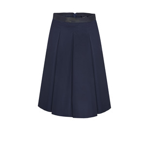 Opus DARK BLUE A-LINE SKIRT