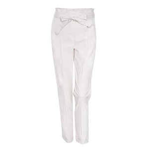 Opus OATMEAL PLEATED TROUSERS