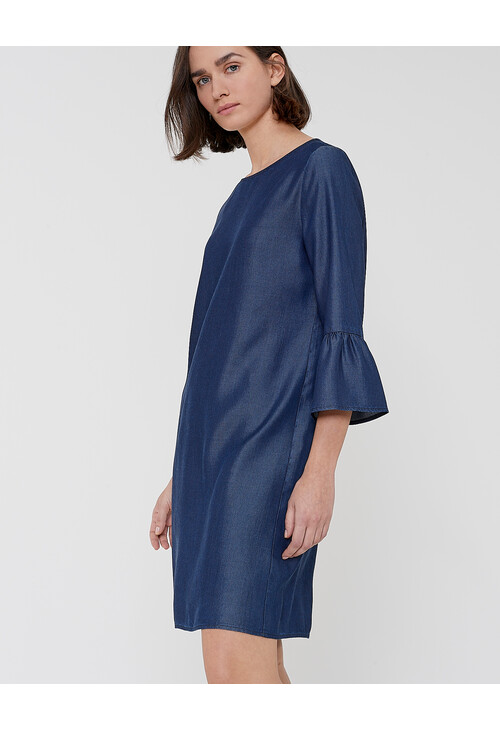 Opus WINY CHAMBRAY SHIRT DRESS
