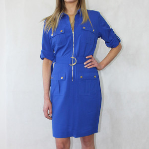 Sharagano Cobolt Shirt Dress