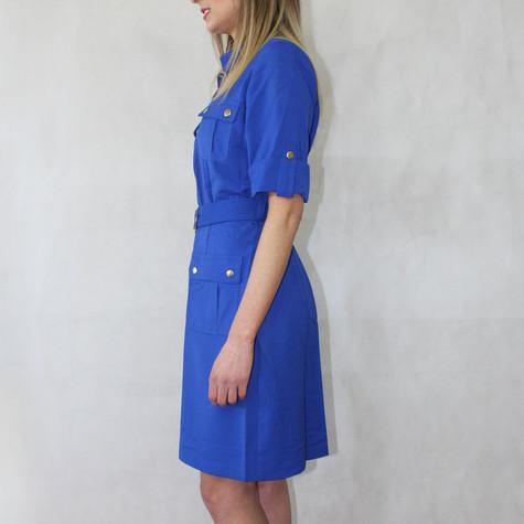 Sharagano Cobolt Shirt Dress
