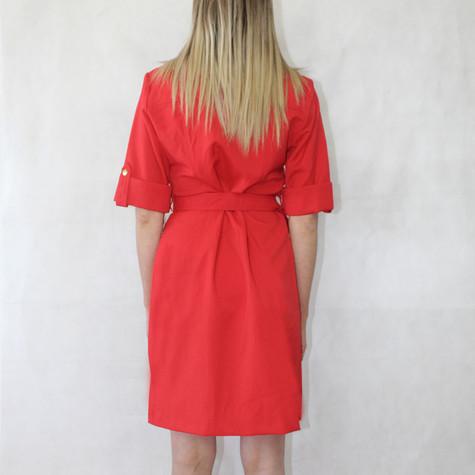 Sharagano New Red Shirt Dress