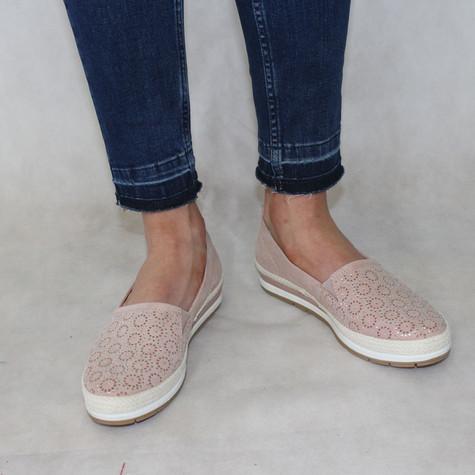 Marco Tozzi Rose Flat Slip-On Shoe