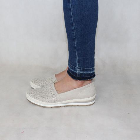 Marco Tozzi Dune Flat Slip-On Shoes