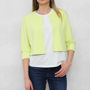 Gerry Weber Day Dream Pale Lime Crop Jacket