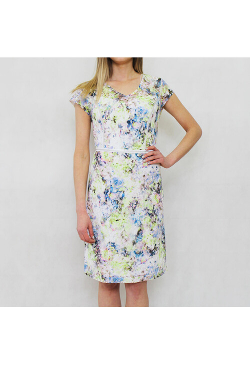Gerry Weber Day Dream Multi Print Cap Sleeve Dress