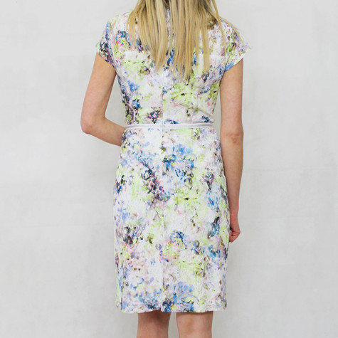 Gerry Weber Day Dream Multi Print Cap Sleeve Dress