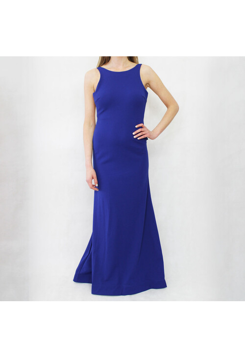 My Michelle Royal Blue Open Back Dress