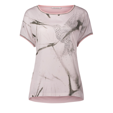 Betty Barclay Off White Bird Stud Detail Top