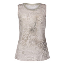 Betty Barclay Sleeveless Beige Pattern Top