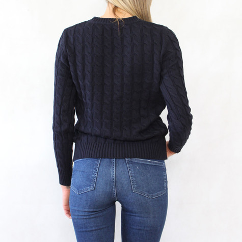 Twist Navy V-Neck Knit - ONLY €30 -