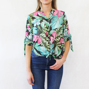 Gerry Weber Tropical Garden Print Light Blouse