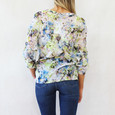 Gerry Weber Daydream Off White & Yellow Blouse