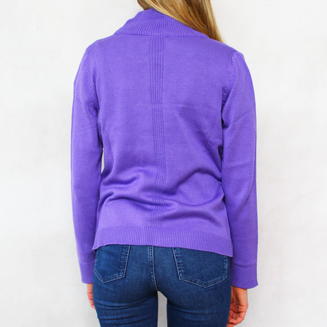 Twist Ultra Zip Up Knit