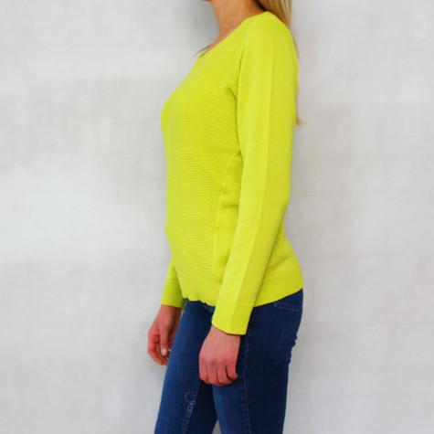 Twist Citrus 3/4 Sleeve Knit