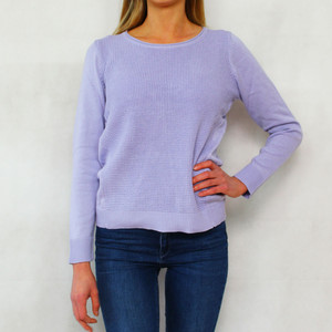 Twist Lilac 3/4 Sleeve Knit