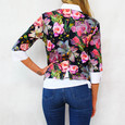 Twist Navy Floral 2 in 1 Top