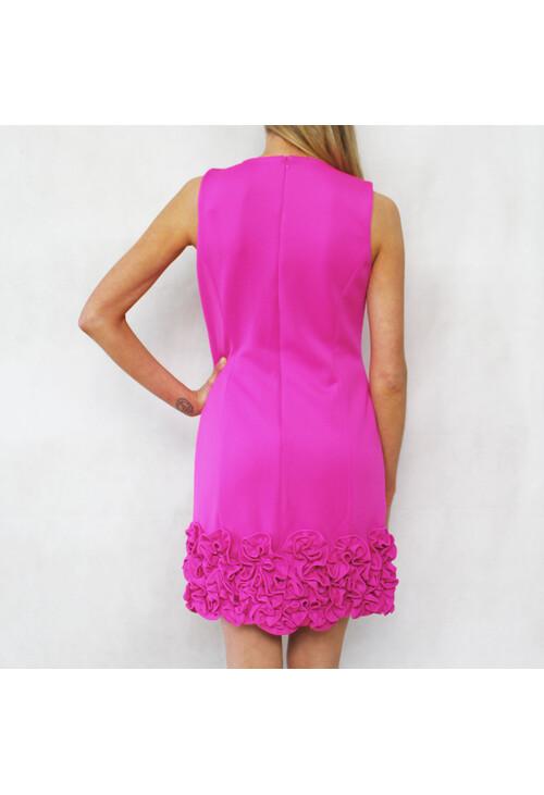 Ronni Nicole New York Ruffle Hem Sheath Dress