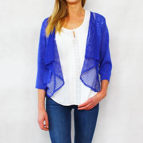 SophieB Royal Blue Open Light Knit