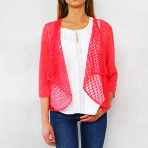 SophieB Pink Open Light Knit