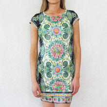 101 Ideas The Light Green Paisley Print Dress
