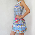 101 Ideas The Light Blue Multi Print Dress