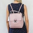 Mimosa Rose Laser Cut Accessory Bag
