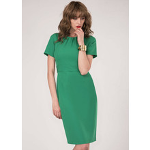 Closet Green Tie Back Short Sleeve Dress