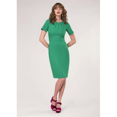 Closet Green Tie Back Short Sleeve Dress