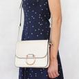 Mimosa Ecru Gold Chain Handbag