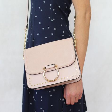 Mimosa Rose Gold Chain Handbag