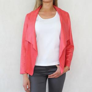SophieB Coral Drape Jacket